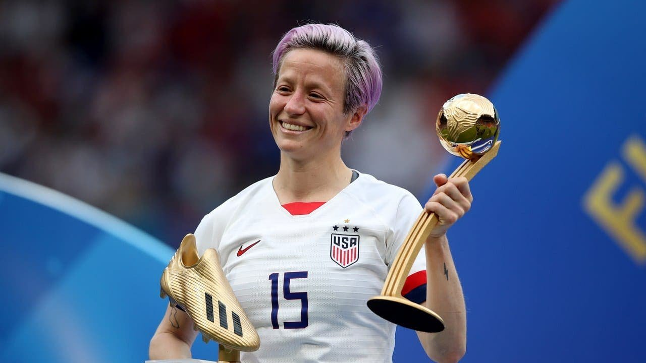 ¿Megan Rapinoe como portada del FIFA de septiembre? ¡Hazlo posible!