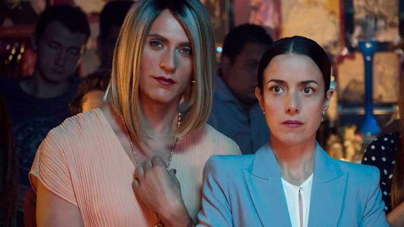 María José y Paulina La Casa de Las Flores