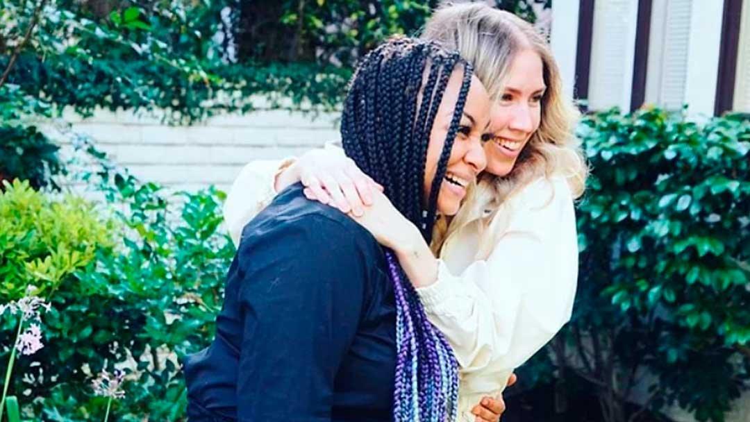 Raven Simoné y Miranda Pearman-Maday se acaban de casar