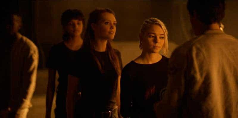 Abigail, Raelle y Tally