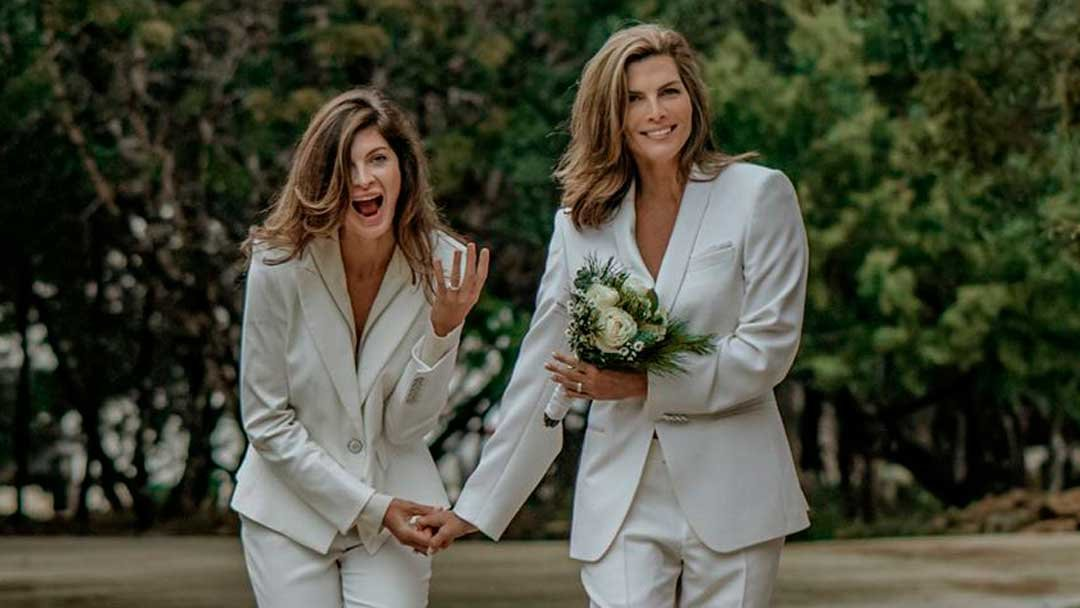Yaya Kosikova y Montserrat Oliver se han casado