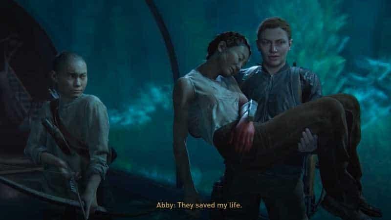 Abby salva a Yara y Lev