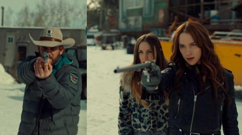 Waverly y Wynonna contra el Sheriff