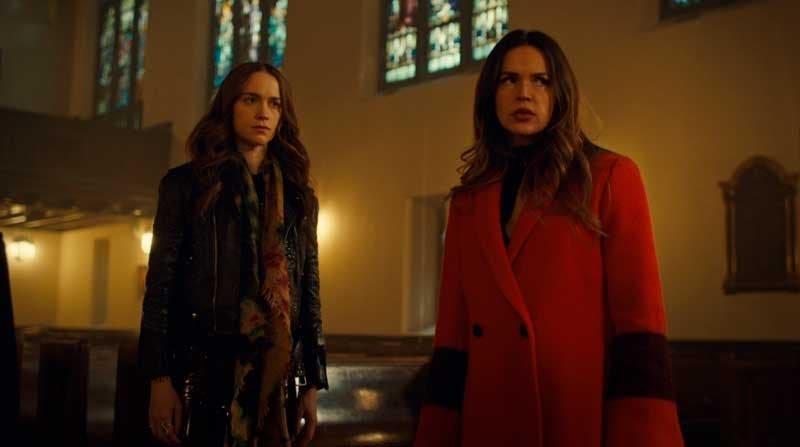 Wynonna y Rosita en el convento