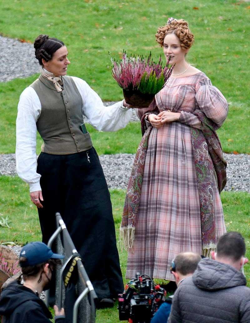 Sureanne Jones y Sophie Rundle en Gentleman Jack