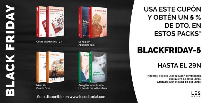 ofertas libros lésbicos Black Friday