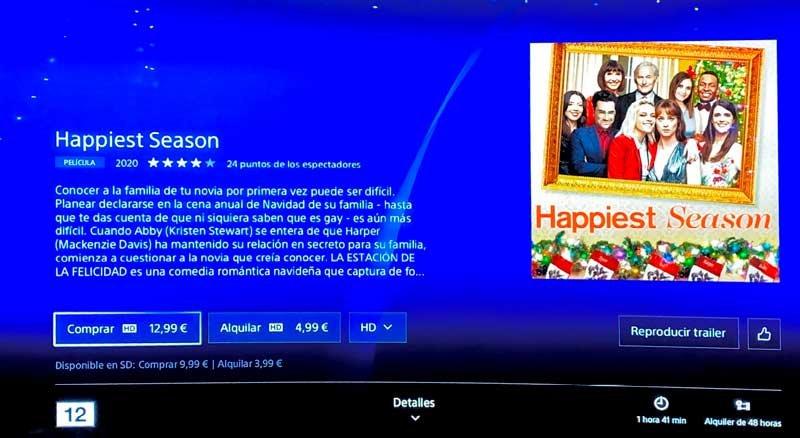 La estación de la felicidad en PlayStation Store