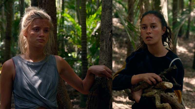 Shelby y Toni hablando