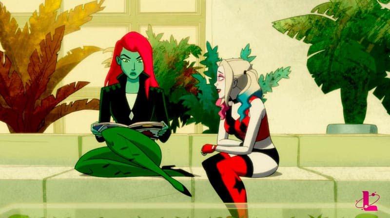 Harley Quinn rogándole a Poison Ivy