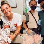 Ali Krieger y Ashlyn Harris celebraron San Valentín estrenándose como mamás