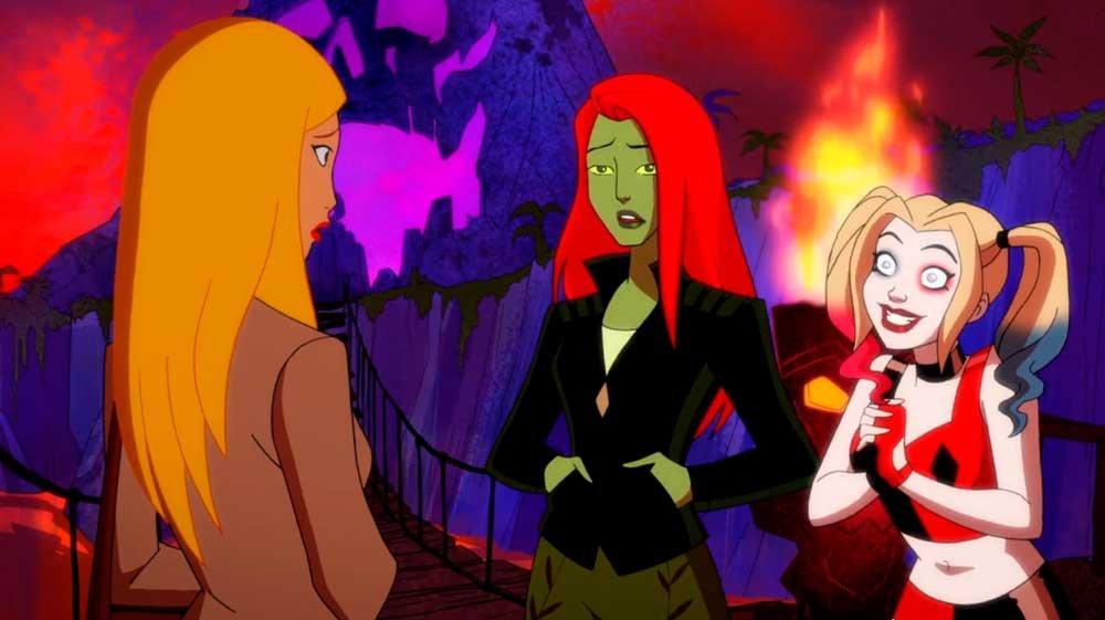 Poision Ivy y Harley Quinn buscando piso