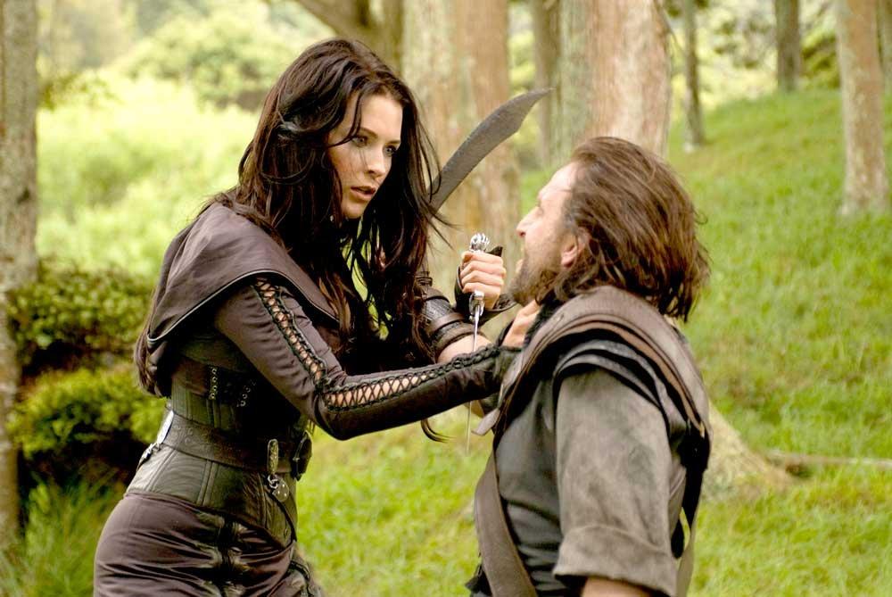 Kahlan confesando a un hombre