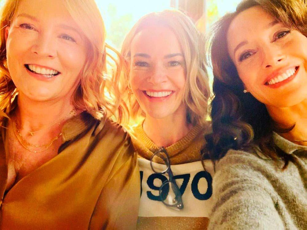 Laurel Holloman, Jennifer Beals y Leisha Hailey