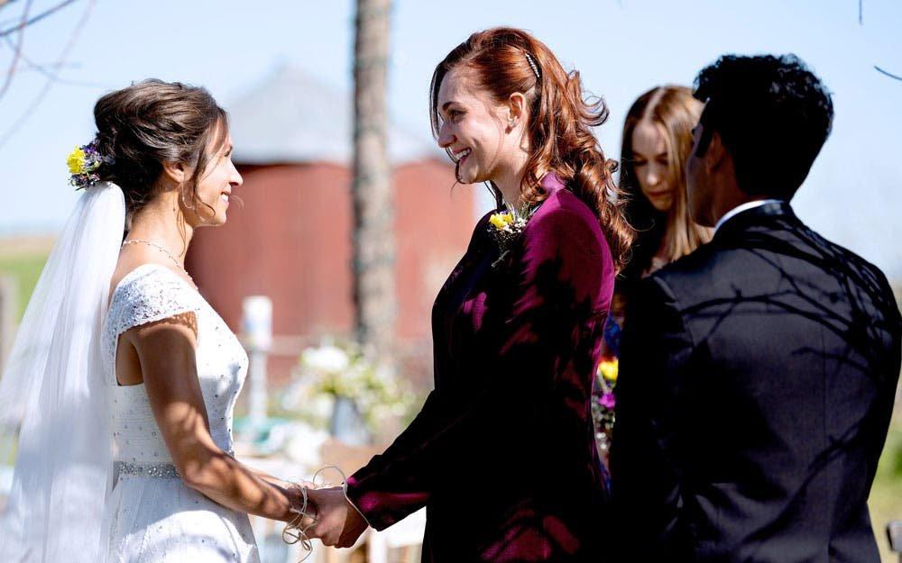 La boda de Wayhaught