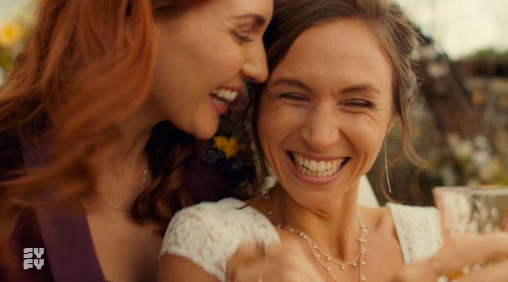 Waverly y Nicole felices