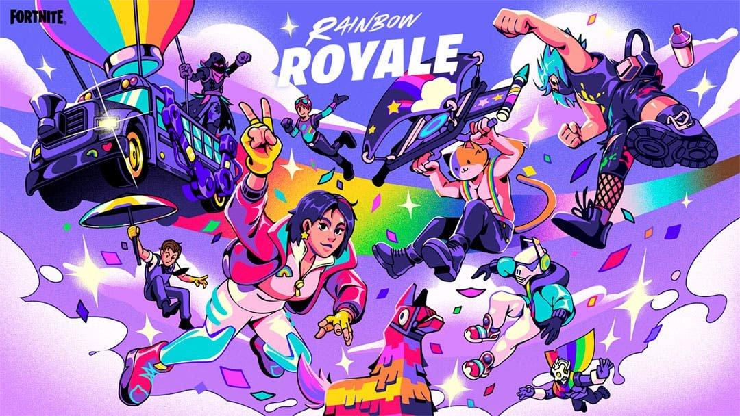 Fortnite se viste de colores y anuncia el Rainbow Pride