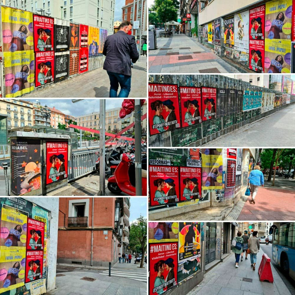 Posters de Maitino en Madrid