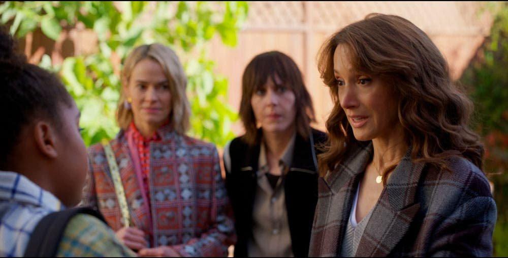 Bette, Alice y Shane acompañando a Angie