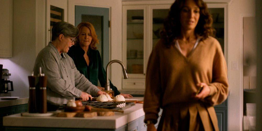 Bette, Tina y Carrie en la cocina