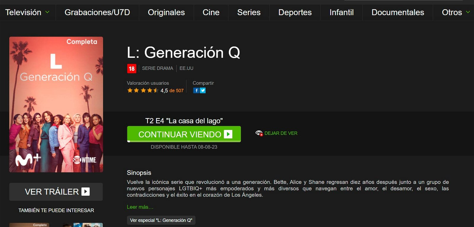 L Generación Q en Movistar