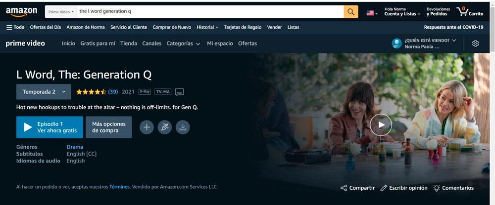 Amazon Prime en España con NordVPN