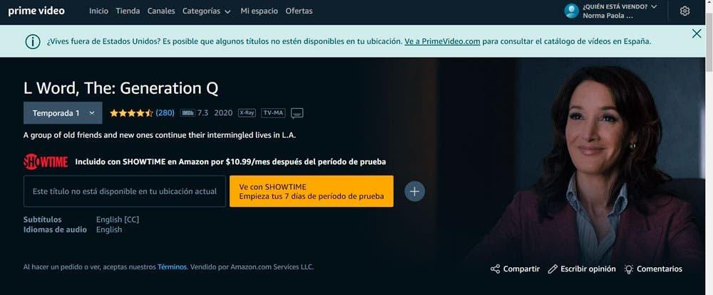Amazon Prime en España