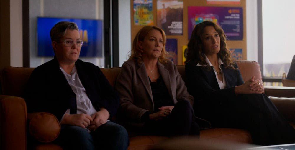Carrie, Tina y Bette en terapia
